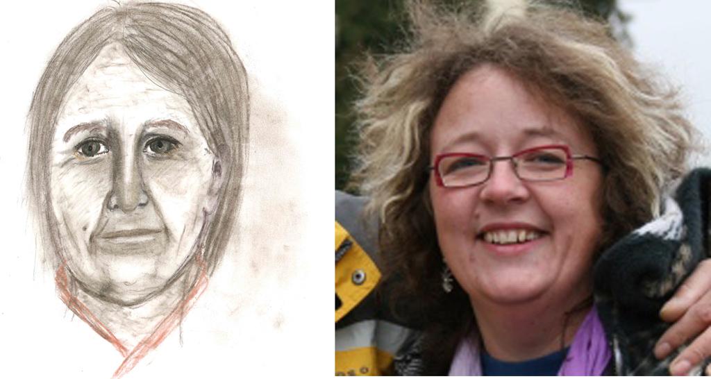 Tegning og Mona