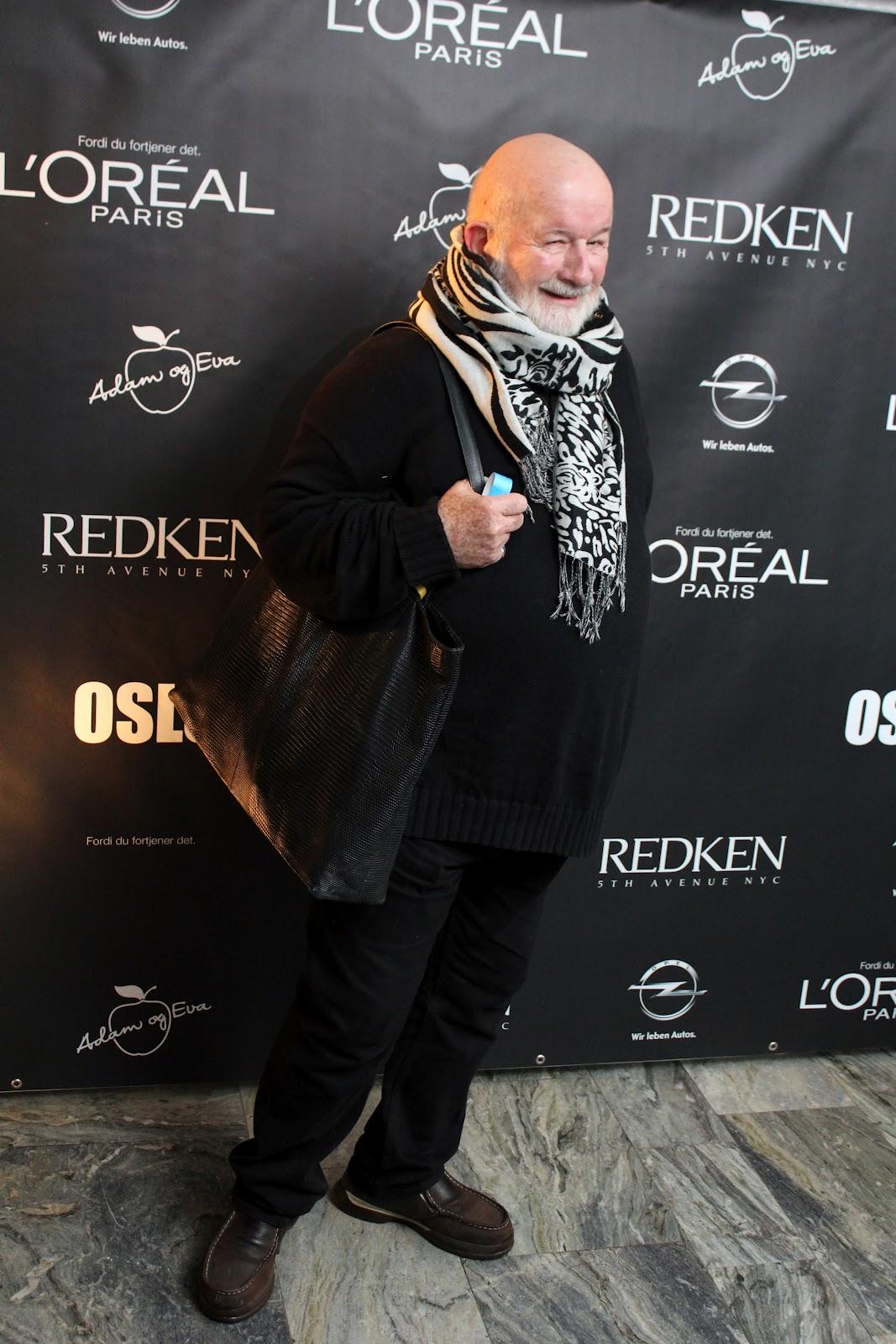 Nils-Christian Ihlen-Hansen Oslo Fashion Week opening 6. feb 2012