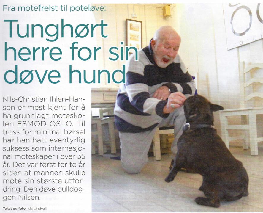 Nils-Christian og hunden