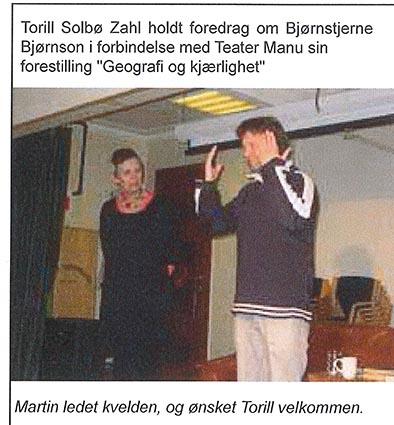 Torill og Martin 2010