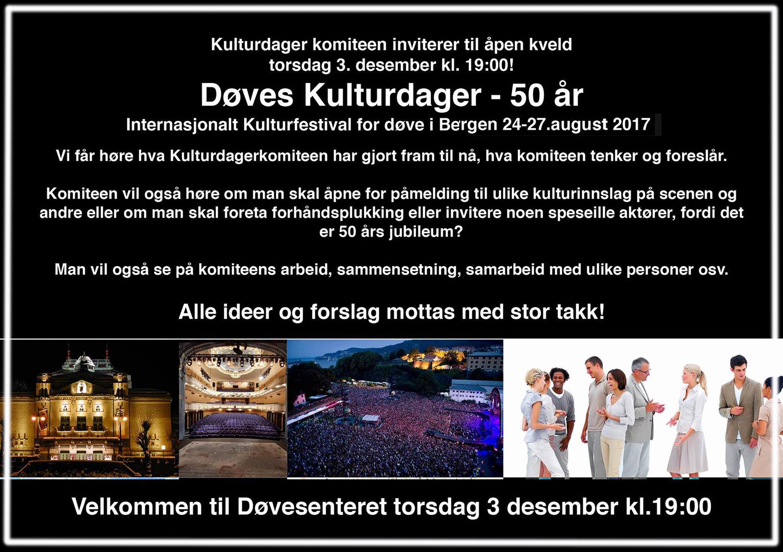 Kulturdagerkveld 03-12-15