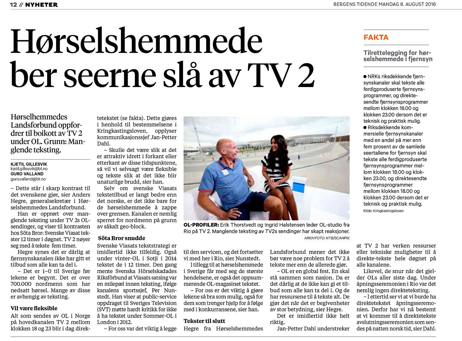 2016-08-08 BT TV2-teksting