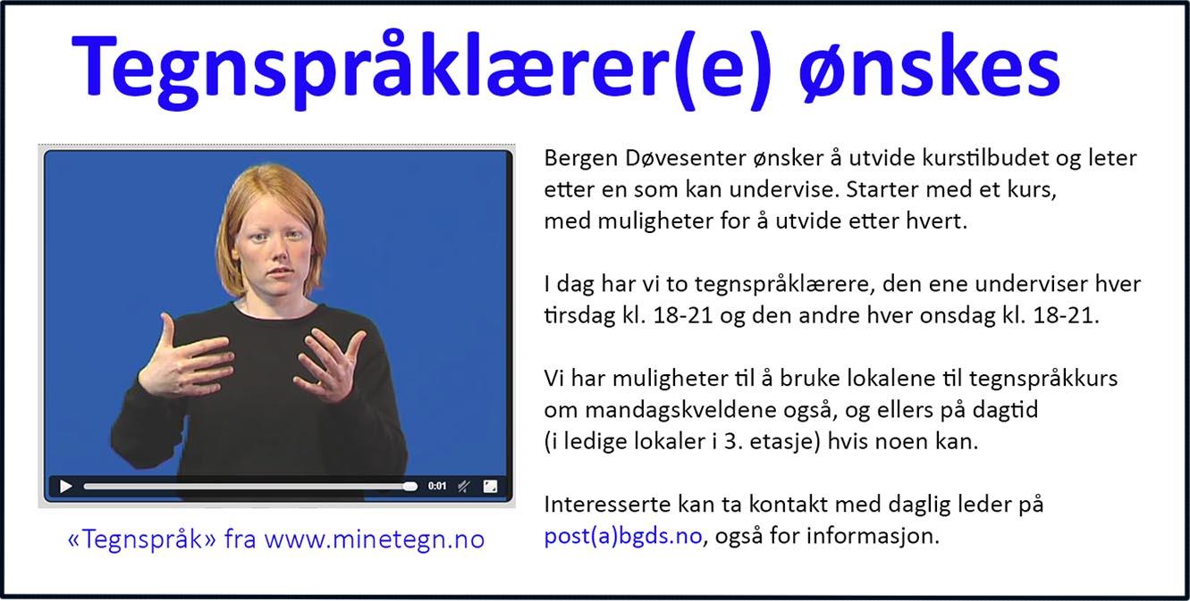 Tegnspråk